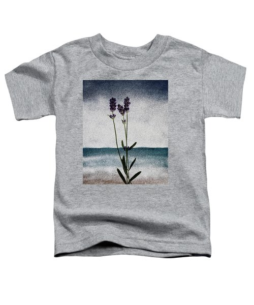 Lavender Ocean Breath Toddler T-Shirt
