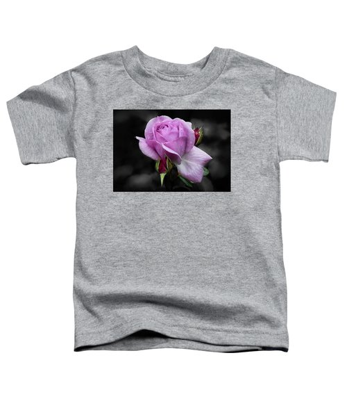 Lavender Rose Toddler T-Shirt