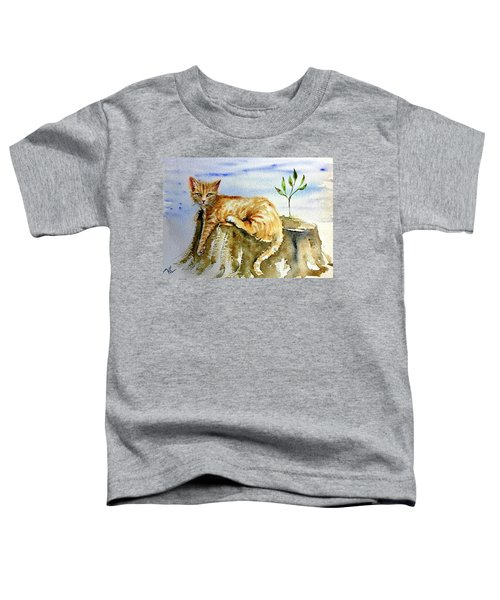 Lazy Evening Toddler T-Shirt