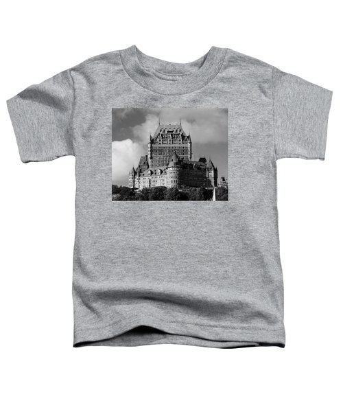 Le Chateau Frontenac - Quebec City Toddler T-Shirt