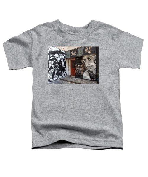 Le Coeur De Paris Toddler T-Shirt
