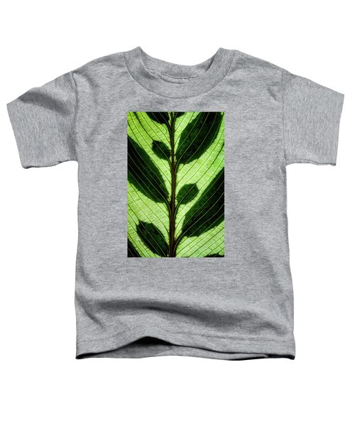 Leaf Detail Toddler T-Shirt