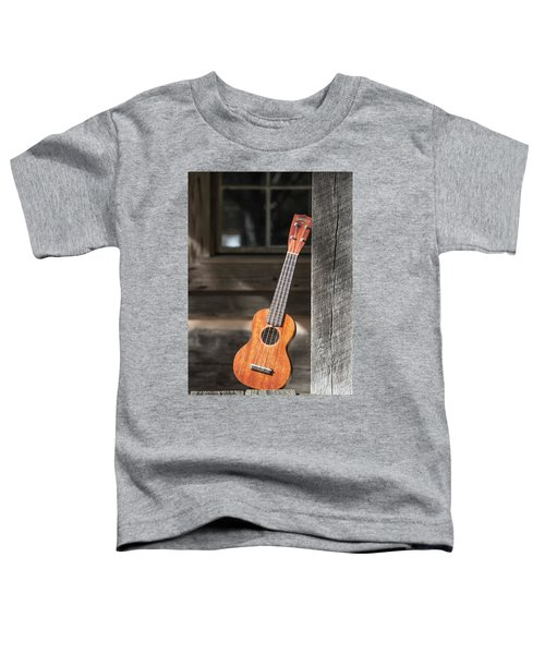 Leaning Uke Toddler T-Shirt