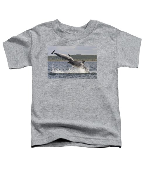 Leaping Bottlenose Dolphins - Scotland  #38 Toddler T-Shirt