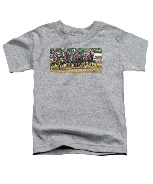 Leaping Forward Toddler T-Shirt