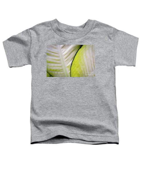 Leaves In White Toddler T-Shirt