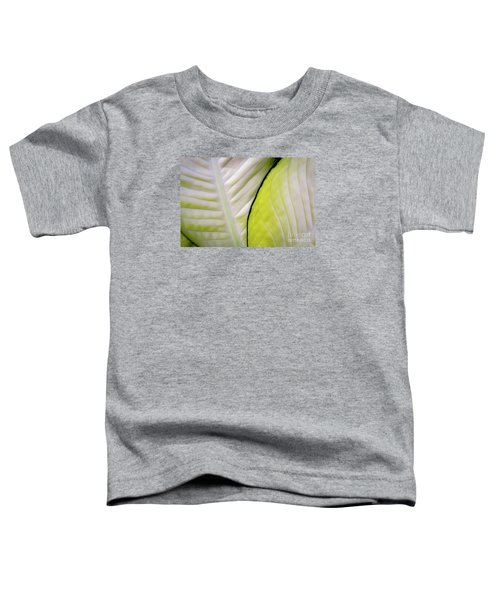 Leaves In White Toddler T-Shirt