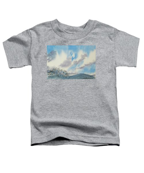 The Blue Hills Of Summer Toddler T-Shirt