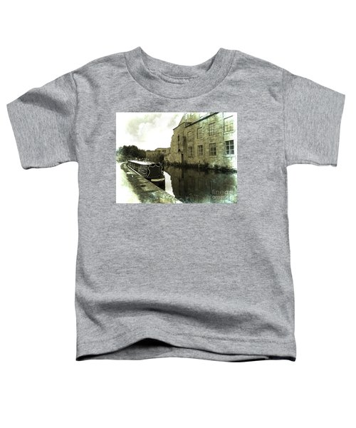 Leeds Liverpool Canal Unchanged For 200 Years Toddler T-Shirt