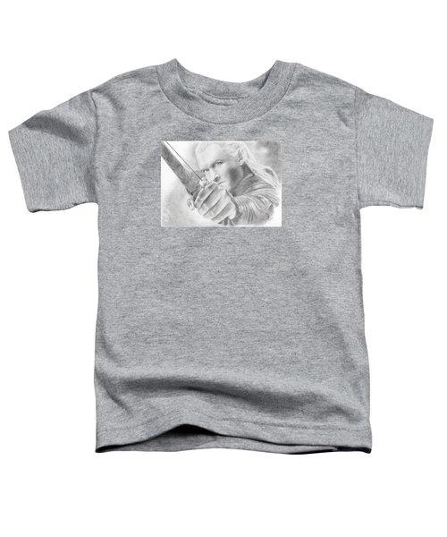 Legolas Greenleaf Toddler T-Shirt by Bitten Kari