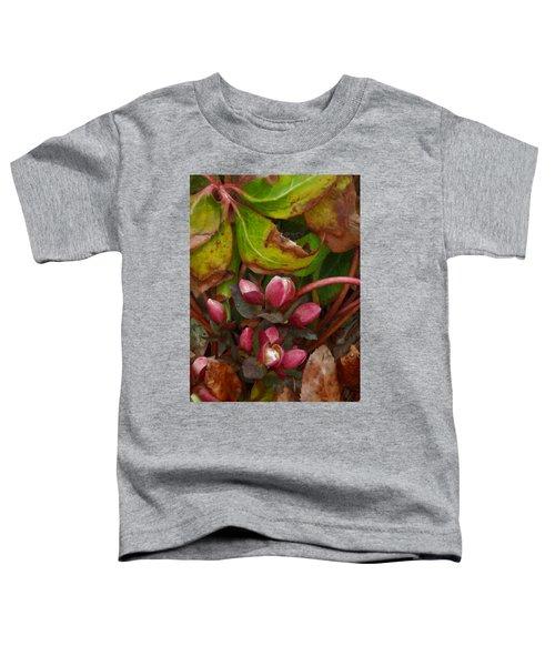Lenten Rose Buds Toddler T-Shirt