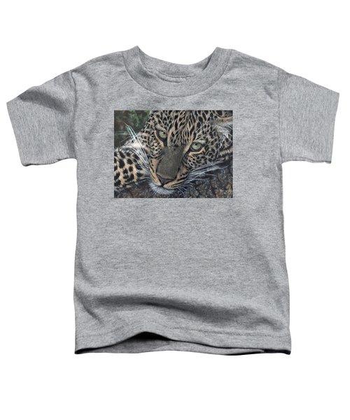 Leopard Portrait Toddler T-Shirt