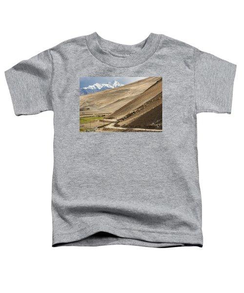 Less Traveled Toddler T-Shirt