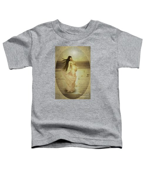 Let Your Soul And Spirit Fly Toddler T-Shirt by Linda Lees
