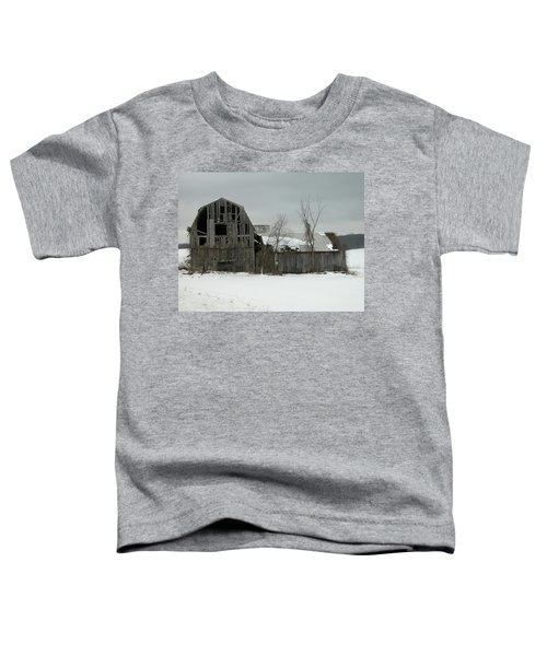 Letchworth Barn 0077b Toddler T-Shirt
