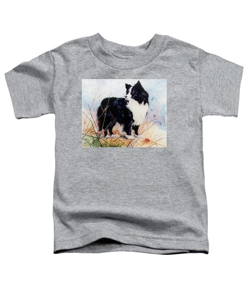 Let's Play Ball Toddler T-Shirt by Hanne Lore Koehler