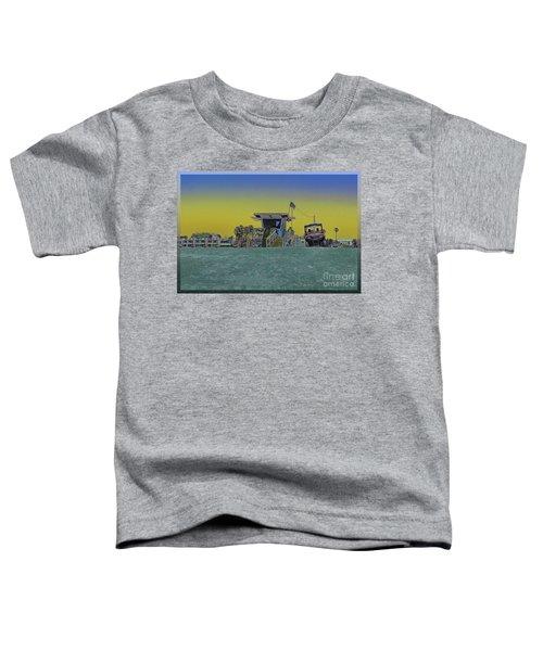 Lifeguard Tower 4 Toddler T-Shirt