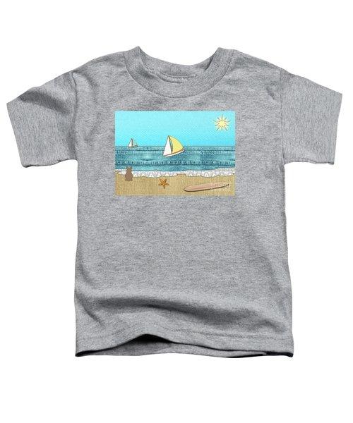 Life's A Beach Toddler T-Shirt