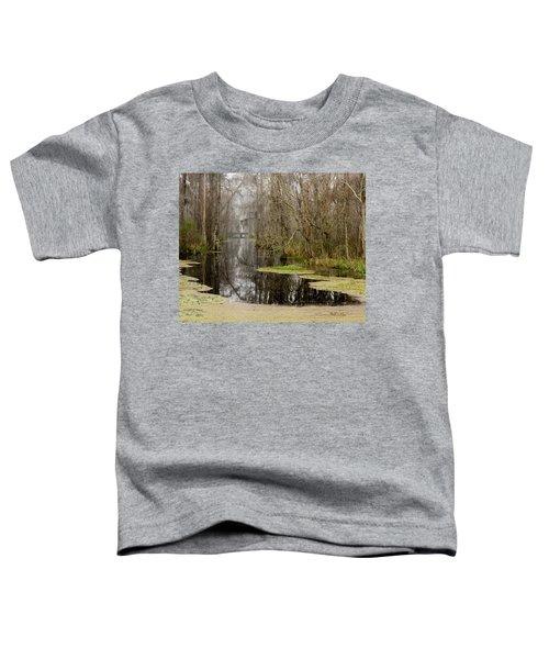Light Fog On The Swamp Toddler T-Shirt
