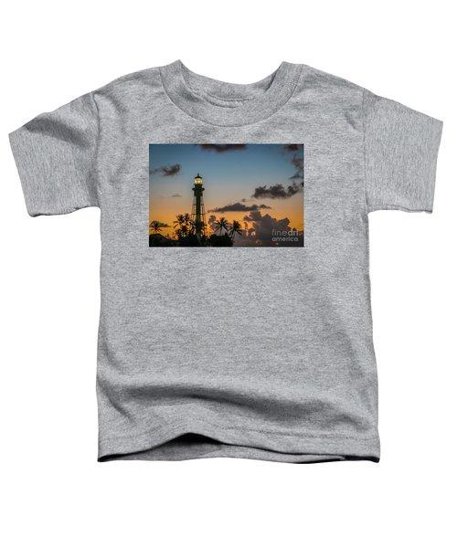 Lighthouse At Dawn #1 Toddler T-Shirt