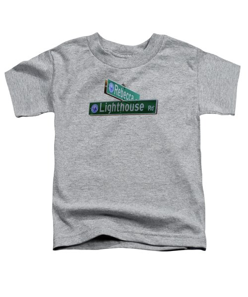 Lighthouse Road Toddler T-Shirt