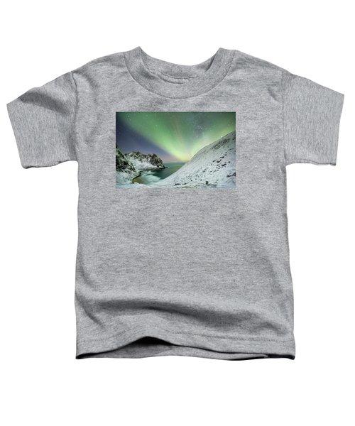 Lights Above Kvalvika Toddler T-Shirt