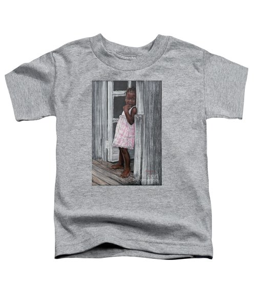Lil' Girl In Pink Toddler T-Shirt