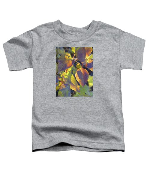 Lilac Leaves Toddler T-Shirt
