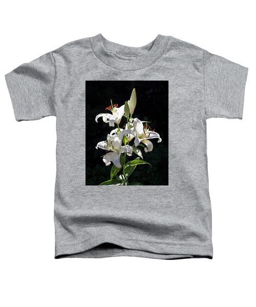 Lilies In The Sun Toddler T-Shirt