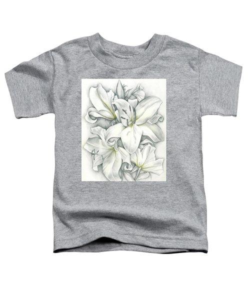 Lilies Pencil Toddler T-Shirt