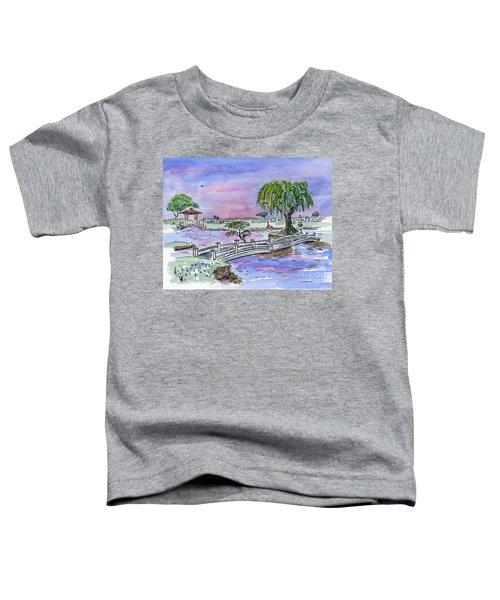 Liliuokalani Park Hilo Hawaii Toddler T-Shirt