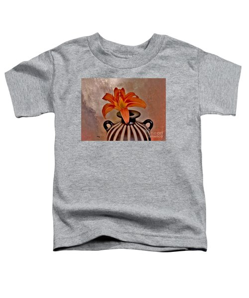 Lily In A Peruvian Vase Toddler T-Shirt