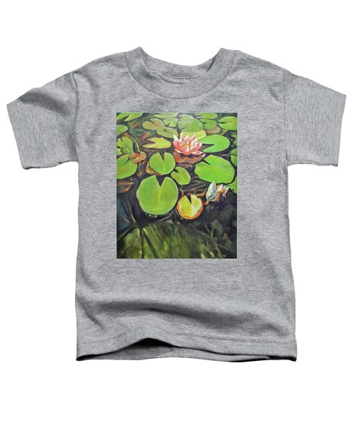 Lily In The Water Toddler T-Shirt