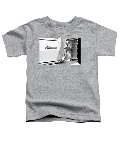 Lincoln Continental Mark Iv Head Light -0149bw Toddler T-Shirt