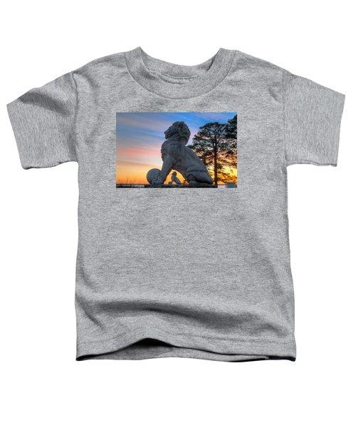 Lions Bridge At Sunset Toddler T-Shirt