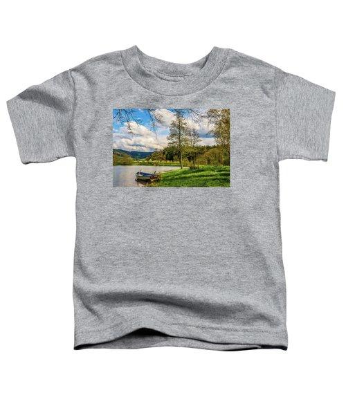 Little Boat Toddler T-Shirt