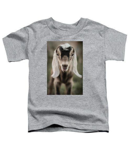 Little Goat In Color Toddler T-Shirt