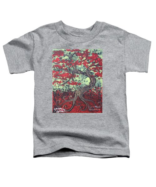 Little Red Tree Series 3 Toddler T-Shirt