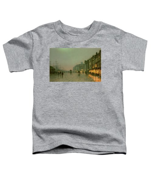 Liverpool Docks From Wapping Toddler T-Shirt