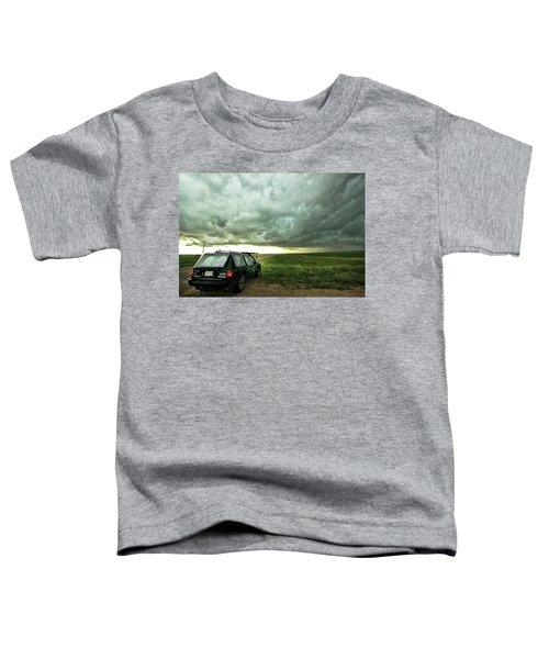 Living Saskatchewan Sky Toddler T-Shirt