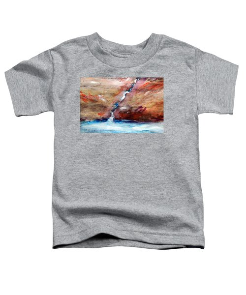 Living Water Toddler T-Shirt by Winsome Gunning