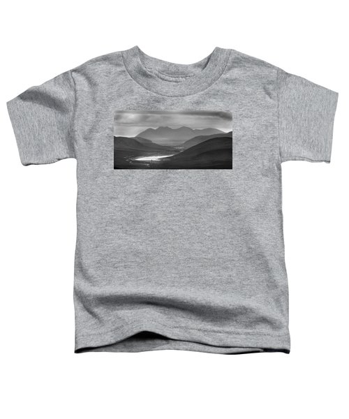 Loch Glascarnoch And An Teallach Toddler T-Shirt