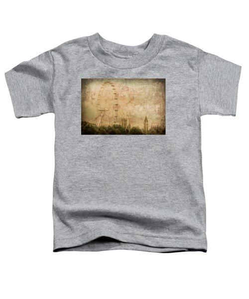 London, England - London Eye Toddler T-Shirt