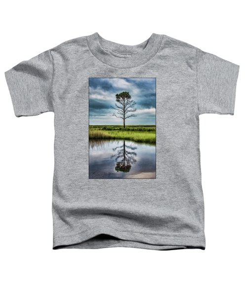 Lone Tree Reflected Toddler T-Shirt