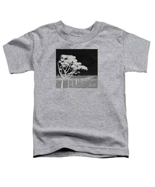 Lone Tree, West Coast Toddler T-Shirt by Nareeta Martin