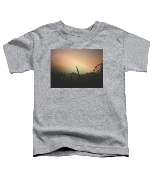 Lonely Fence Post  Toddler T-Shirt