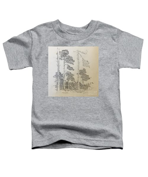 Lonely Pines Toddler T-Shirt