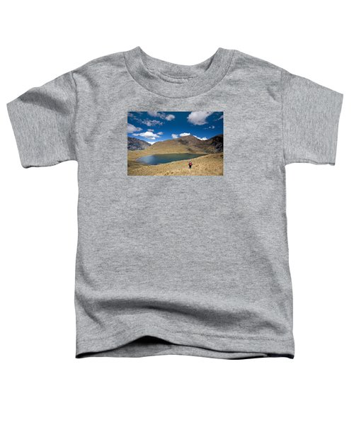 Lonely Walker At Punta Union Toddler T-Shirt