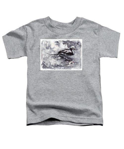 Long-tailed Duck Toddler T-Shirt