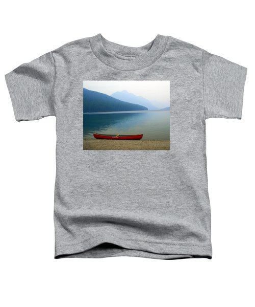 Lonly Canoe Toddler T-Shirt